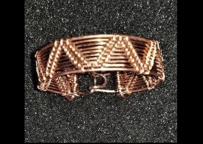 Custom Sized Zuni Design Copper Bracelet Copper Wire Ambrosias Creative Realm